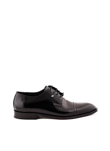 Dr.Flexer 657403 HakıkıDerıErkek Comfort Ayakkabı Sıyah Açma Siyah